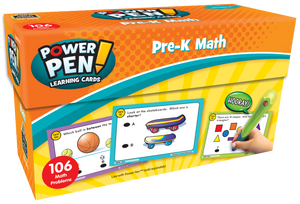 Power Pen¬ Learning Cards: Math (PreK)