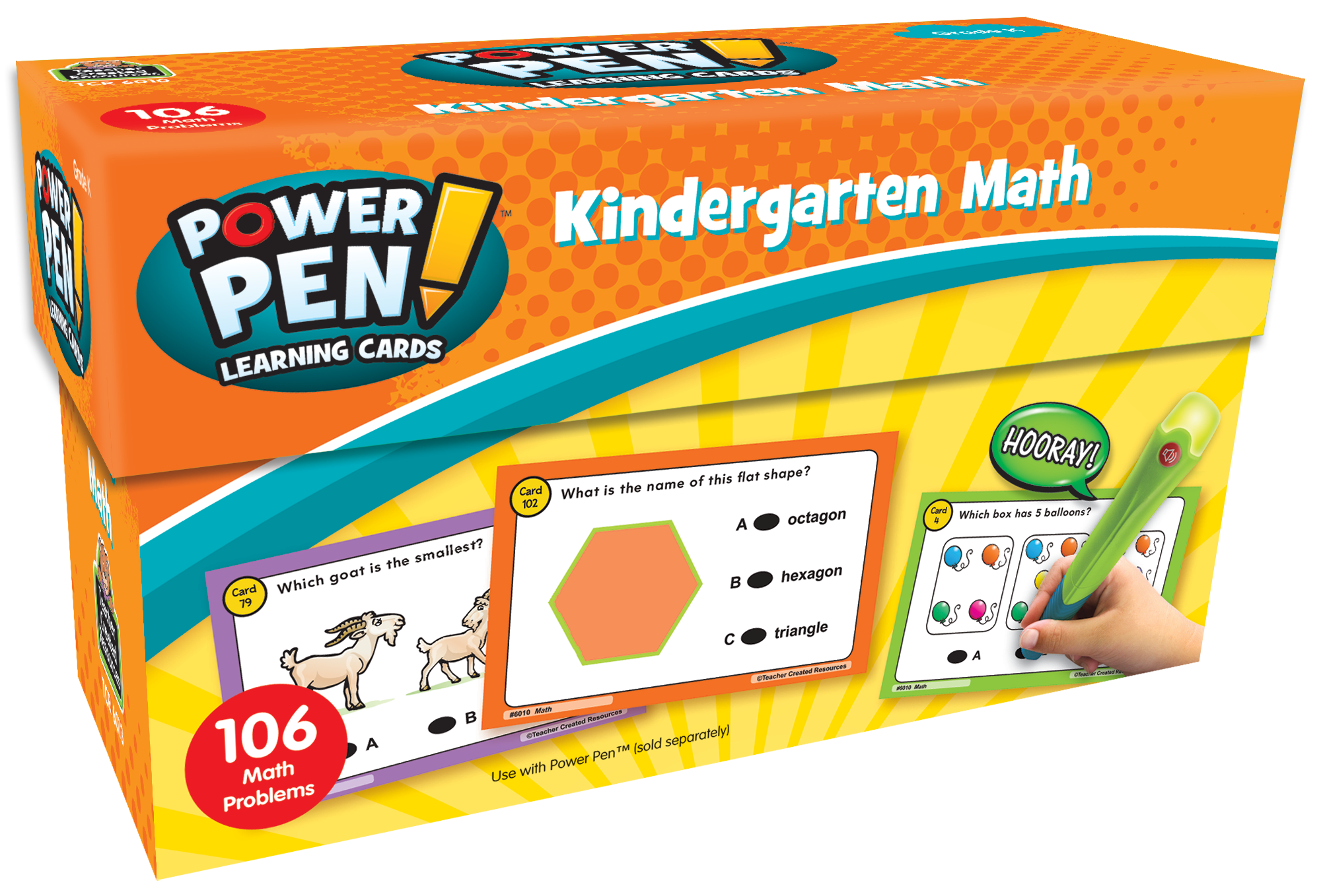 Power Pen¬ Learning Cards: Math (Gr. K)