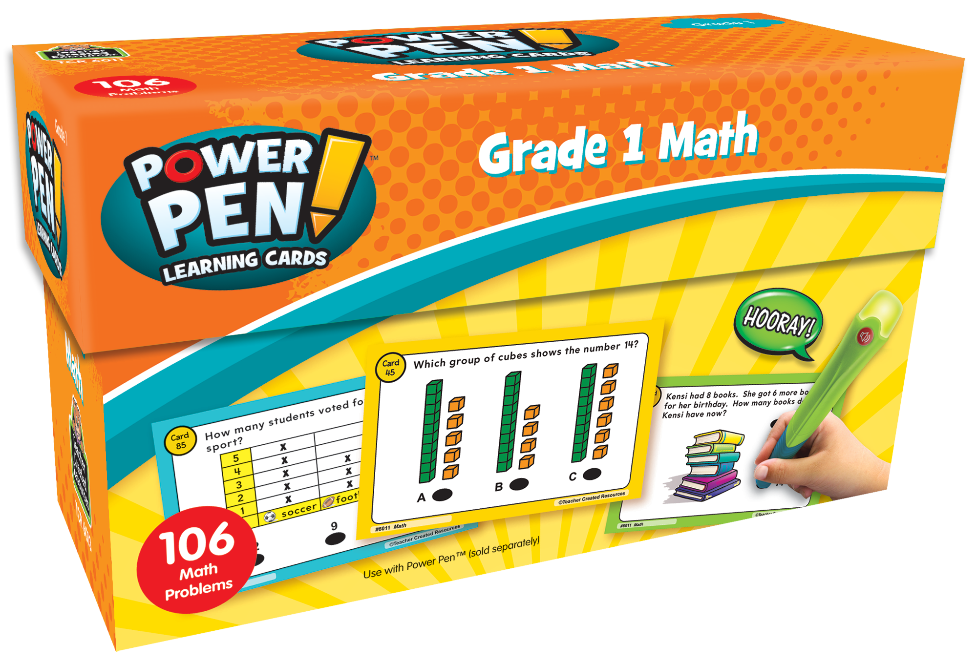 Power Pen¬ Learning Cards: Math (Gr. 1)