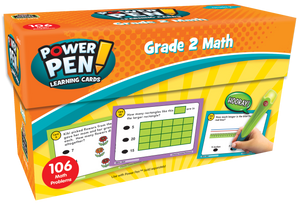 Power Pen¬ Learning Cards: Math (Gr. 2)