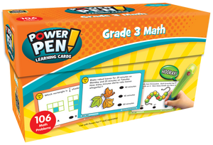 Power Pen¬ Learning Cards: Math (Gr. 3)