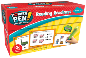Power Pen¬ Learning Cards: Reading Readiness