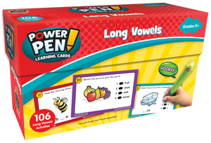 Power Pen¬ Learning Cards: Long Vowels