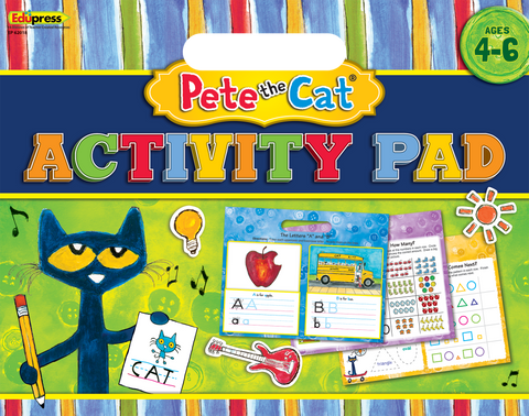 Pete the Cat¬ Activity Pad