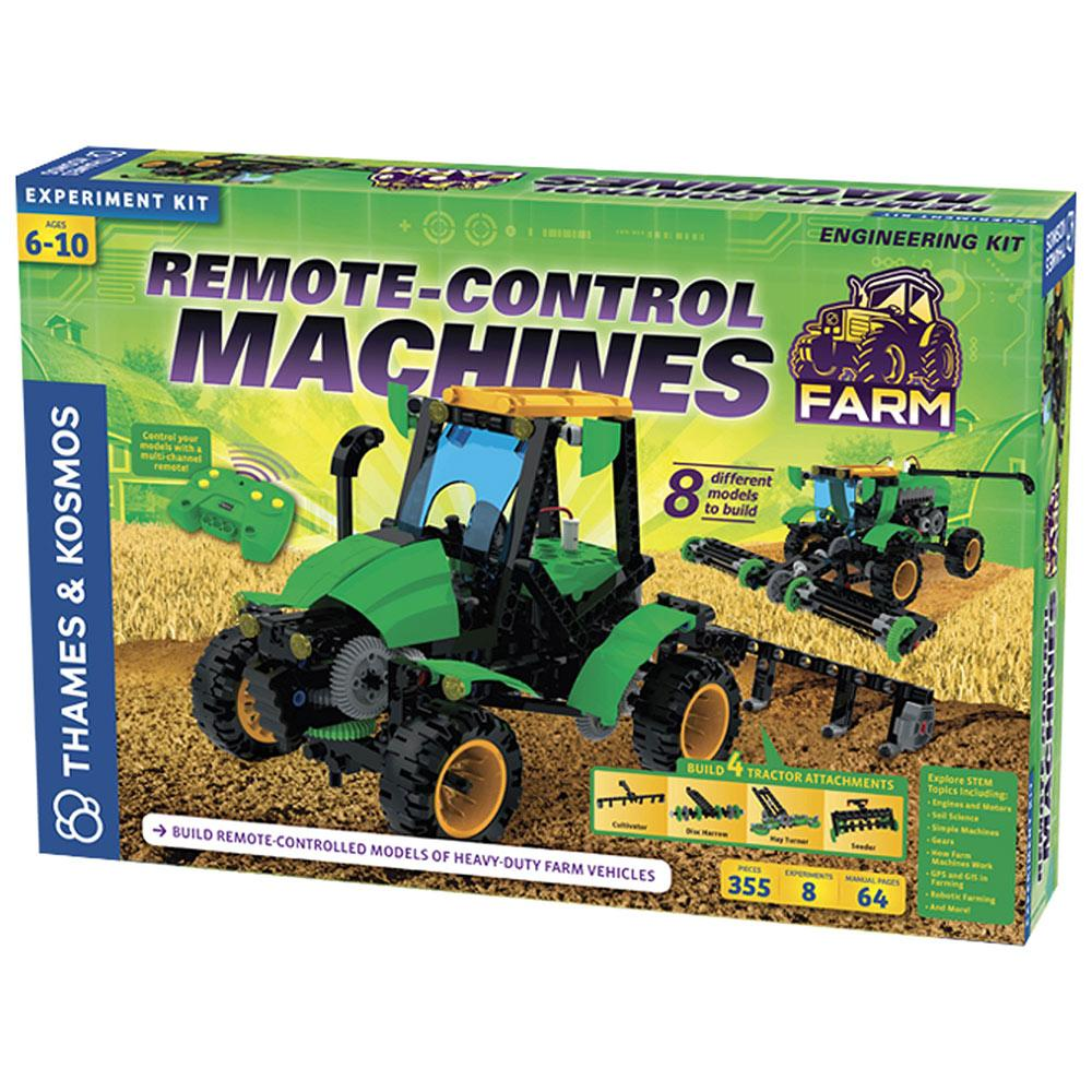 Remote Control Farm Machines