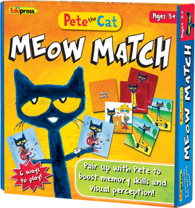 Pete the Cat¬ Meow Match Game