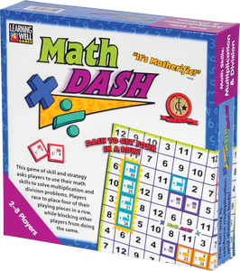 Math Dash Game: Multiplication/Division