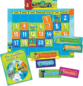 Pete the Cat¬ Calendar Kit