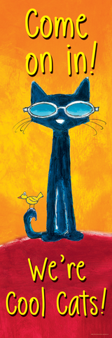Pete the Cat¬ Welcome Banner