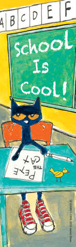 Pete the Cat¬ School is Cool Bookmarks