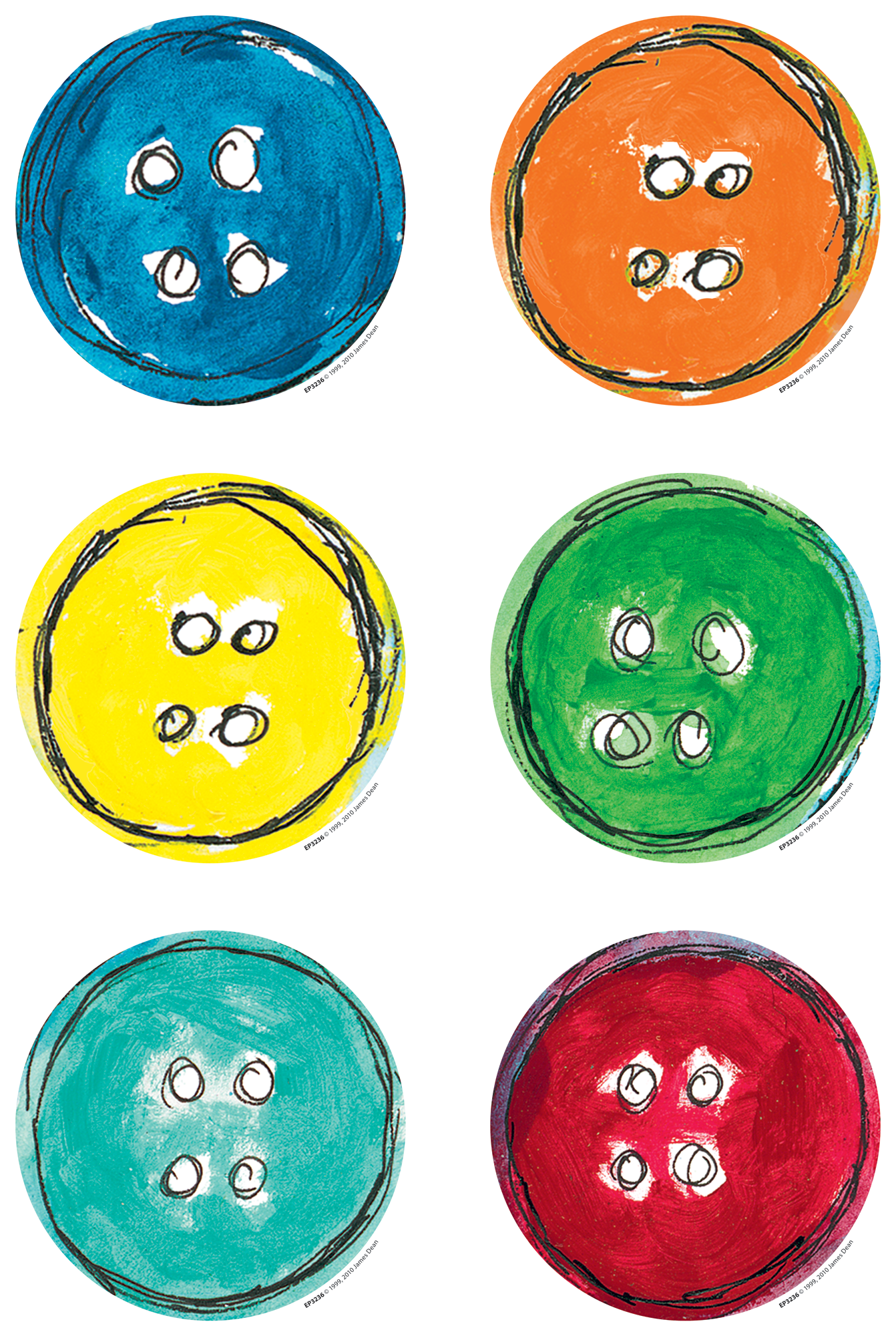 Pete the Cat¬ Groovy Buttons Accents
