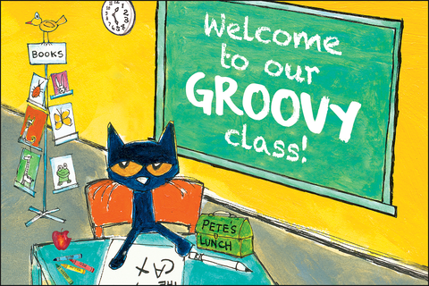 Pete the Cat¬ Welcome to Our Groovy Class Postcards