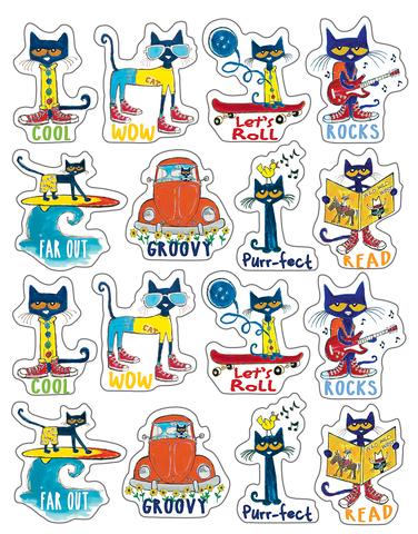 Pete the Cat¬ Stickers