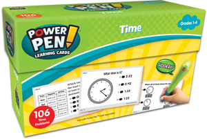 Power Pen¬ Learning Cards: Time