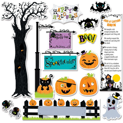 HAPPY HALLOWEEN MINI BULLETIN BOARDS