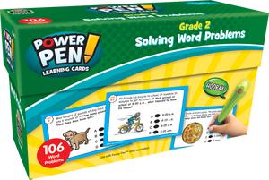 Power Pen¬ Learning Cards: Solving Word Problems (Gr. 2)