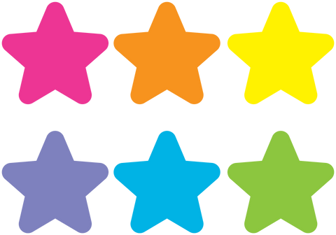 Spot On¬ Bright Stars Carpet Markers - 7""