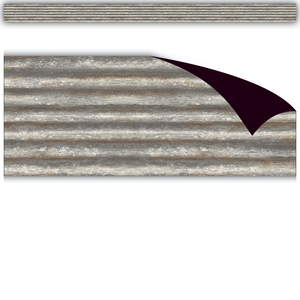 Corrugated Metal Magnetic Border