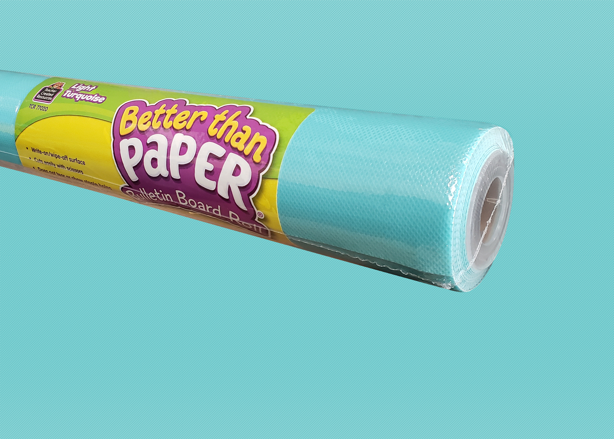 Light Turquoise Better Than Paper® Bulletin Board Roll