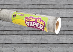 Gray Wood Better Than Paper® Bulletin Board Roll