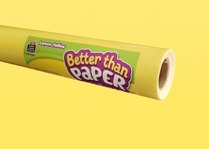 Lemon Yellow Better Than Paper® Bulletin Board Roll