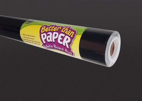 Black Better Than Paper¬ Bulletin Board Roll