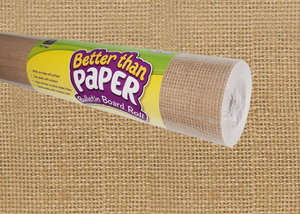 Burlap Better Than Paper¬ Bulletin Board Roll
