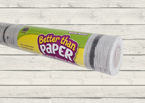White Wood Better Than Paper¬ Bulletin Board Roll
