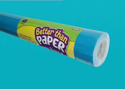 Teal Better Than Paper¬ Bulletin Board Roll