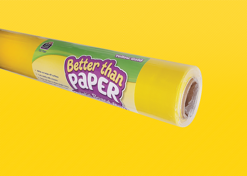 Yellow Gold Better Than Paper¬ Bulletin Board Roll