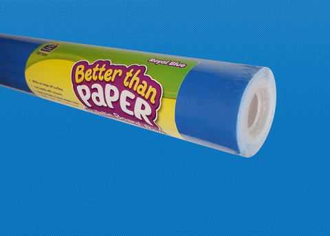 Royal Blue Better Than Paper¬ Bulletin Board Roll