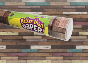 Reclaimed Wood Better Than Paper¬ Bulletin Board Roll