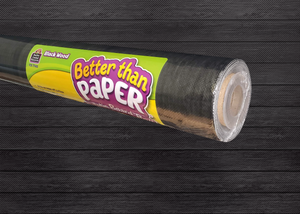 Black Wood Better Than Paper® Bulletin Board Roll