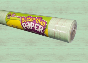 Mint Painted Wood Better Than Paper® Bulletin Board Roll