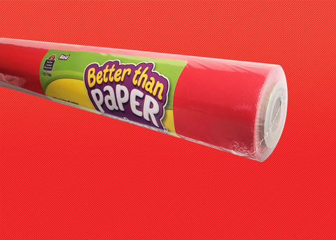 Red Better Than Paper® Bulletin Board Roll
