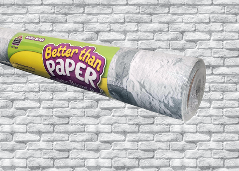 White Brick Better Than Paper® Bulletin Board Roll