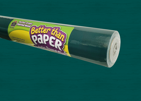 Hunter Green Painted Wood Better Than Paper¨ Bulletin Board Roll