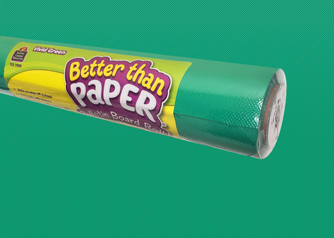 Vivid Green Better Than Paper® Bulletin Board Roll