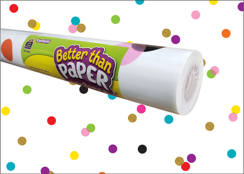 Confetti Better Than Paper¨ Bulletin Board Roll