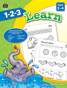 1-2-3 Learn (Ages 3_4)