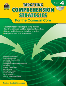 Targeting Comprehension Strategies for the Common Core (Gr. 4)