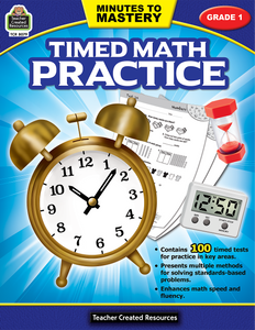 Minutes to Mastery - Timed Math Practice (Gr. 1)