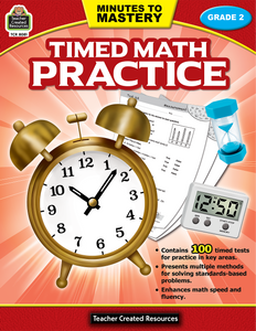 Minutes to Mastery - Timed Math Practice (Gr. 2)
