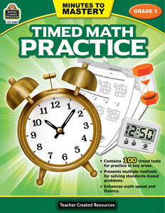 Minutes to Mastery - Timed Math Practice (Gr. 3)