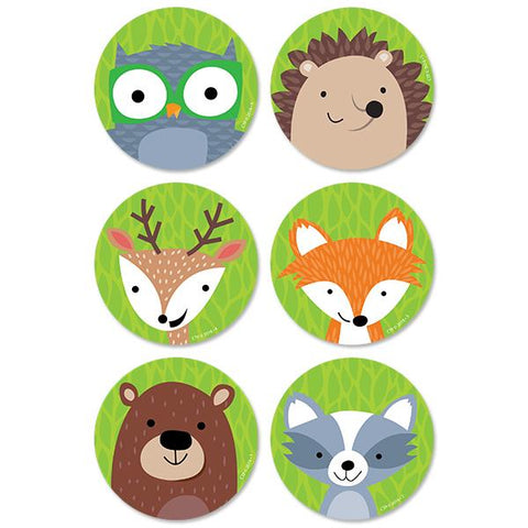 "WOODLAND FRIENDS 3"" DESIGNER CUT-OUTS"