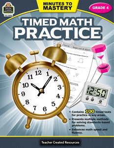 Minutes to Mastery - Timed Math Practice (Gr. 4)