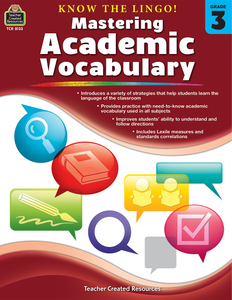 Know the Lingo! Mastering Academic Vocabulary (Gr. 3)