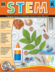 STEM: Engaging Hands-On Challenges Using Everyday Materials (Gr. K)