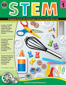 STEM: Engaging Hands-On Challenges Using Everyday Materials (Gr. 1)