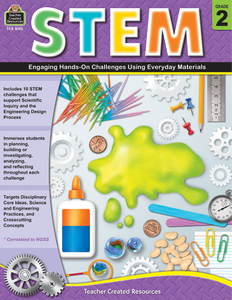 STEM: Engaging Hands-On Challenges Using Everyday Materials (Gr. 2)